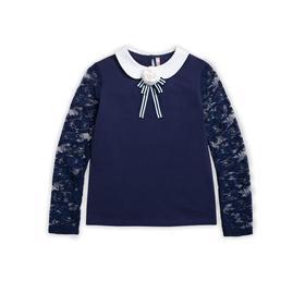 Джемпер для девочек, рост 128 см, цвет синий