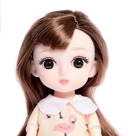 Кукла модная шарнирная «Эльза» в платье, МИКС