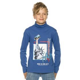 Джемпер для мальчиков, рост 158 см, цвет синий