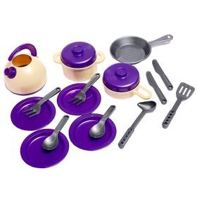 Набор посуды кухонной, 18 предметов МИКС 990
