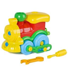 Игрушка «Конструктор-паровозик»
