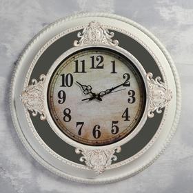 "Часы настенные, серия: Интерьер, ""Дифен"", 62 х 62 см, плавный ход"