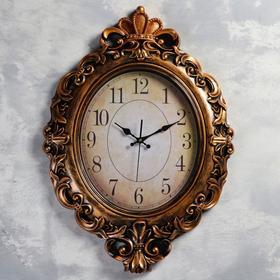 """Часы настенные, серия: Интерьер, """"Атик"""", d=70 см, 3 АА, плавный ход"""