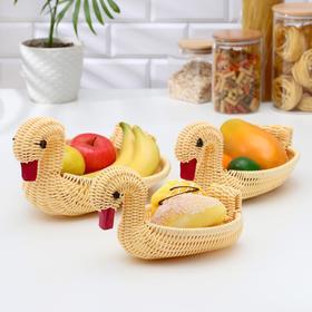 {{photo.Alt || photo.Description || 'Корзинки для фруктов и хлеба «Лебединая семья», 3 шт'}}