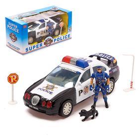 Набор «Полиция», с фигуркой человека