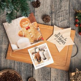 """Набор подарочный """"Hot cocoa weather"""" кух полотенце и акс."""