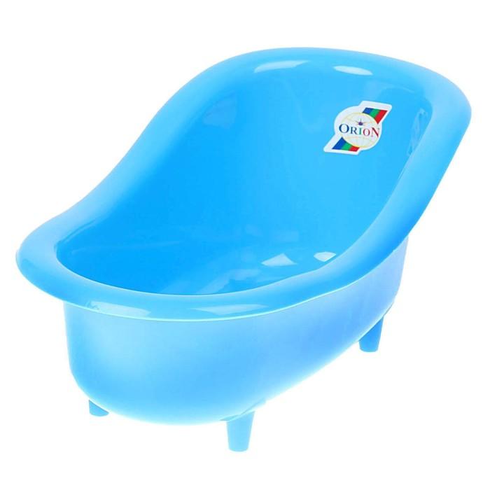 Ванночка для куклы, цвета МИКС - фото 105511361