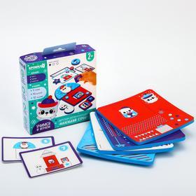 Настольная игра для малышей «Зимний строитель» EVA+карточки