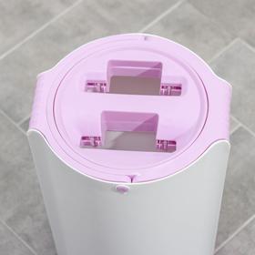 Набор для уборки: ведро с отсеками для полоскания и отжима 10 л, швабра плоская, запасная насадка с двумя карманами, водосгон, цвет МИКС - фото 4644274