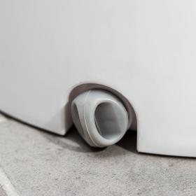 Набор для уборки: ведро с отсеками для полоскания и отжима 10 л, швабра плоская, запасная насадка с двумя карманами, водосгон, цвет МИКС - фото 4644275