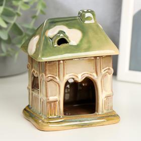 "Aroma lamp ceramic ""House-veranda"" MIX 12x9,5x8 cm"