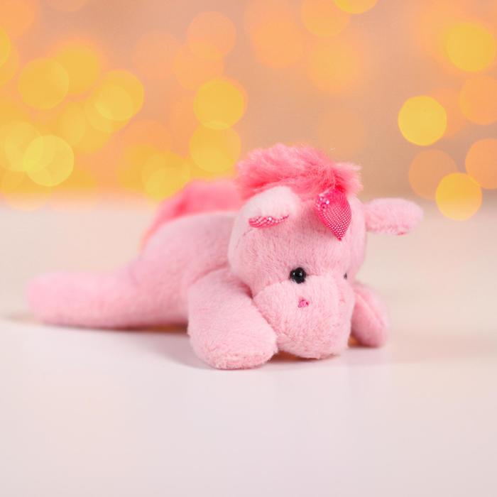 Мягкая игрушка «Единорог», с магнитом, цвета МИКС