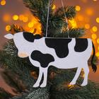 "Christmas pendant ""Cows"" 0,2x21x12,5 cm"