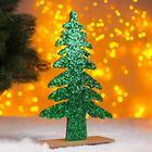 "Christmas decor ""Bright Christmas tree"" green 0,5x17x26 cm"
