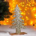 "Christmas decor ""Bright Christmas tree"" gold 0,5x17x26 cm"