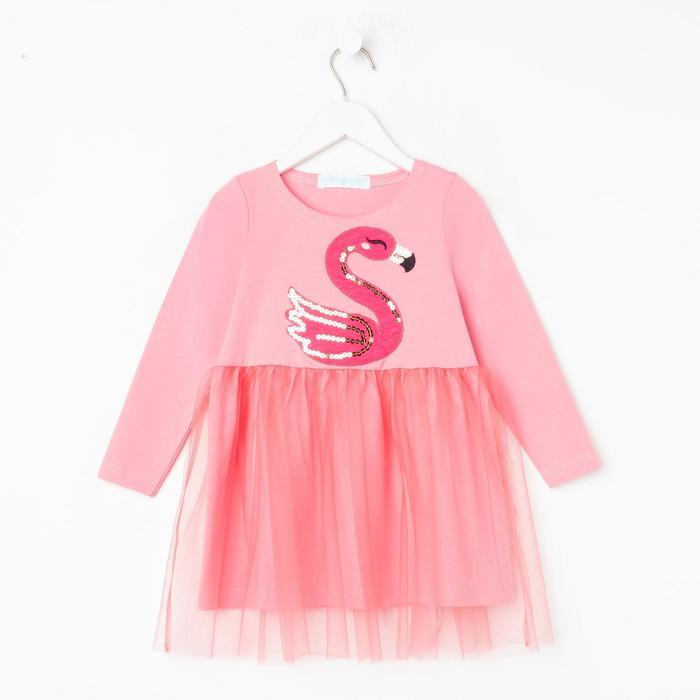 """Платье  KAFTAN """"Фламинго"""", р-р 32 (110-116) - фото 76614450"""