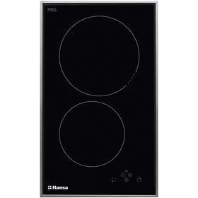 Варочная поверхность Hansa BHII38503, индукционная, 2 конфорки, чёрная