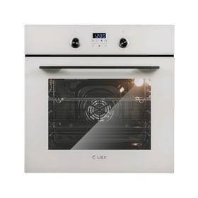Духовой шкаф Lex EDP 6092 IV LIGHT, электрический, 55 л, класс А, светло-бежевый