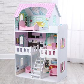 Кукольный дом «Пастила» с интерьером и мебелью
