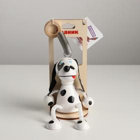 Игрушка Вознесенск - Собака с пятнышками в упаковке