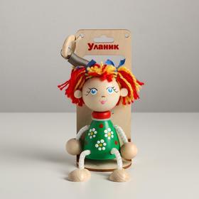 Игрушка Вознесенск - Маша в зеленом платье в упаковке
