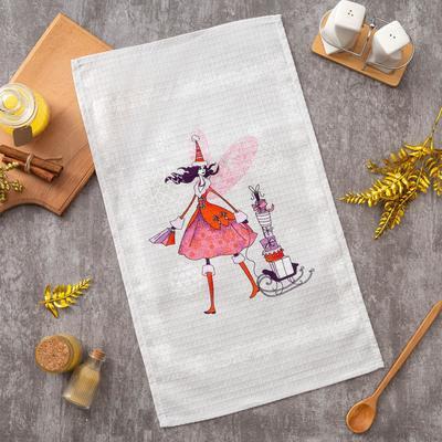 """Towel Ethel 34*58 cm """"Fairy"""", 100% cotton, waffle, 200 gr/m2"""