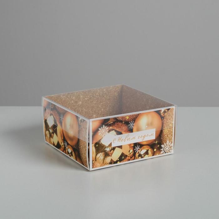 Коробка для кондитерских изделий с PVC крышкой «Волшебство!», 12 х 6 х 11,5 см