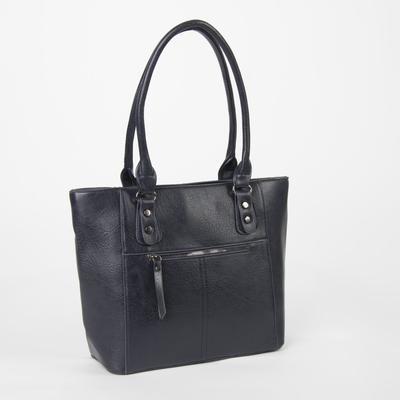 Women's bag 2018-1, otd zipper, n/a pocket, blue