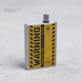 "Вечные спички ""Warning"", 7 х 4 х 1 см"