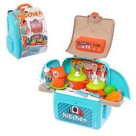 Игровой набор «Моя кухня» в рюкзаке