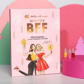 BFF Nail Decorating Assorted 48 Bottles with Real Magic