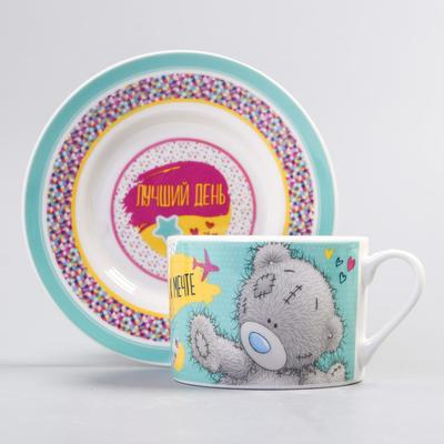 """Set of mug and saucer Me To You """"Fly to the dream"""", 200 ml"""