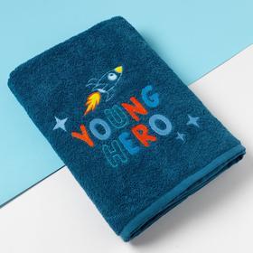 """Полотенце махровое Этель """"Young hero"""" 70х130 см, 100% хлопок, 340гр/м2"""