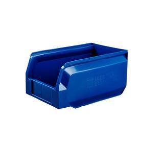 Ящик полимерный многооборотный, 22.402, 25х15х13см, синий Ош