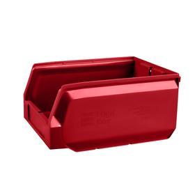 Ящик полимерный многооборотный, 22.412, 30х22,5х15см, красный Ош