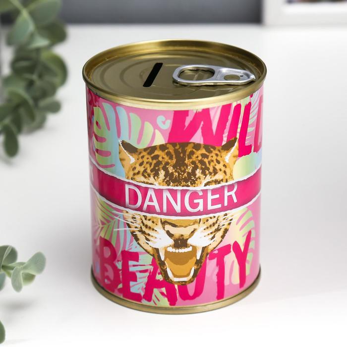 """Копилка-банка металл """"Danger beauty"""""""