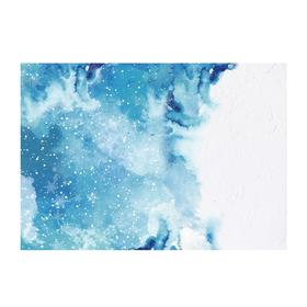 "Photophone ""Winter watercolor"", 70 × 100 cm, paper, 130 g/m"