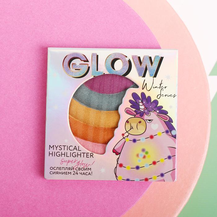 Радужный хайлайтер для лица Unicorn Glow