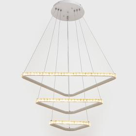 Люстра с ПДУ 59917/3 LED 180Вт 3000-6000К белый 66х66х2,5-102 см