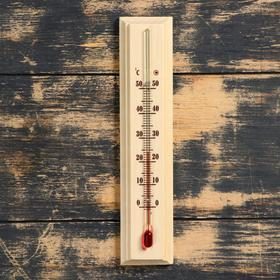 "Room thermometer ""Comfort"" (from 0°C +50°C) 20x4.2x1.3 cm"