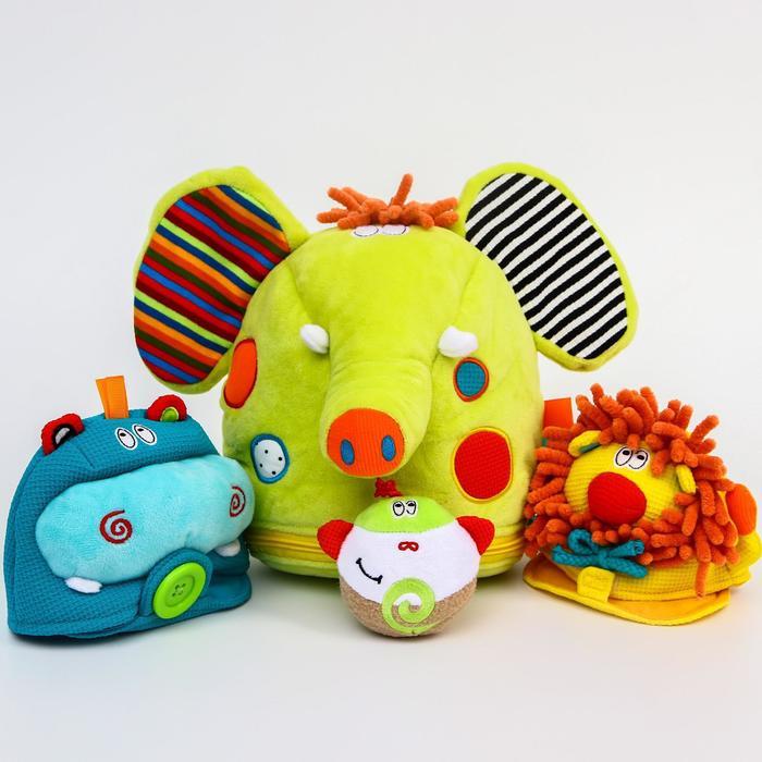 Развивающая игрушка «Сафари. Играю и Учусь» - фото 7652912