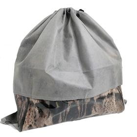 Чехол для хранения сумок с окном, 50x50 см, цвет серый