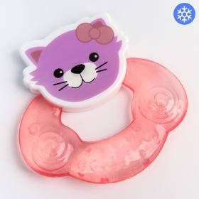 Прорезыватель DOTTY CAT, охлаждающий, цвет МИКС