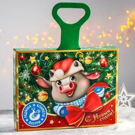 Сладкий детский подарок «Бычок»: конфеты 500 г, ледянка