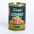 Olives stuffed with pepper W/b 280ml (Barco)