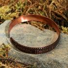"Bracelet ""Jesus prayer"", a narrow, copper"