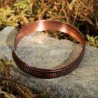 """Bracelet """"Kingdom of heaven"""", a narrow, copper"""