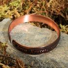 """Bracelet """"Guardian angel"""", a narrow, copper"""