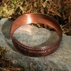 Matrona bracelet, wide, copper