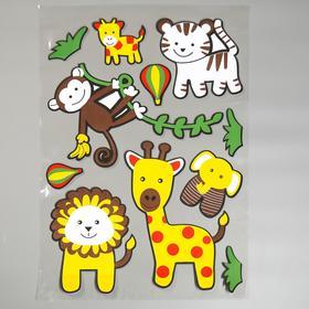 "EVA sticker ""animals of Africa"" 79x49 cm"